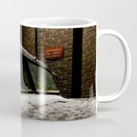 truck Mugs featuring Truck Stop by Michael G. Mitchener