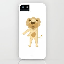 Trends Exercise Movement Flossing Gift Dance Move Lion iPhone Case