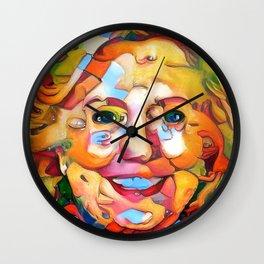 President Hillary Clinton Wall Clock