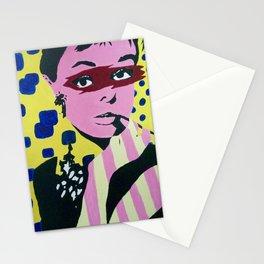 Audrey Hepburn Pop art Stationery Cards