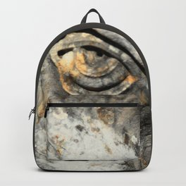 Stone Monster's eye Backpack