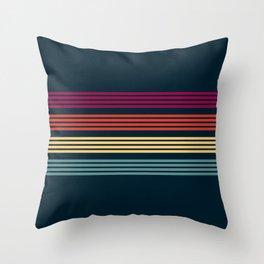 Gantyoki - Classic Minimal Retro Stripes Throw Pillow
