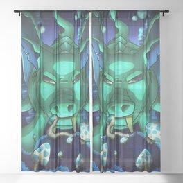Duke Fishron- Terrarias Sheer Curtain