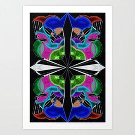 十一 (Shíyī) Art Print
