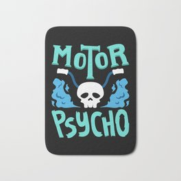 Funny Biker design | Funny Motorcycle T Shirt & Gifts Bath Mat