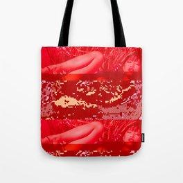 hot summer glitch Tote Bag