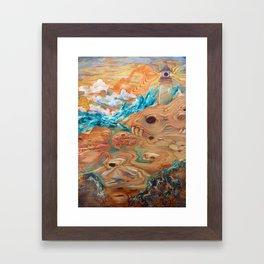 Lighthouse Medicine Framed Art Print