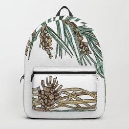 Squirrel wreath Backpack