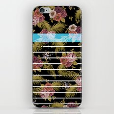 BOTANICAL STRIPES D01 iPhone & iPod Skin