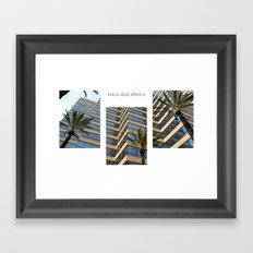 High Rise Office Framed Art Print