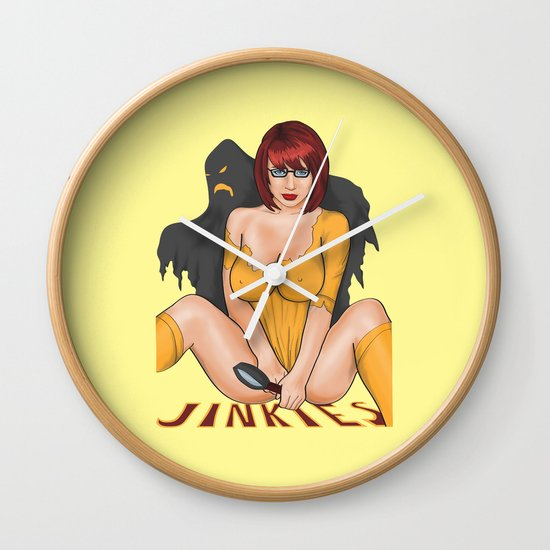 Jinkies Wall Clock