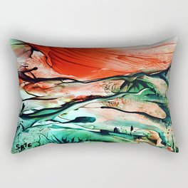 RiverDelta Rectangular Pillow