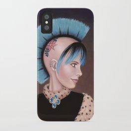 Lady Evangeline iPhone Case