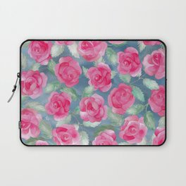 Watercolor Roses Laptop Sleeve