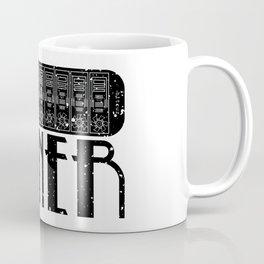 Miner -  Black Coffee Mug