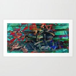 Between the Strokes Art Print