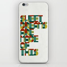Sweet Dreams iPhone Skin