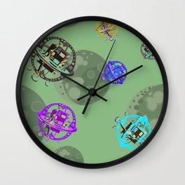Too Many Satellites Wall Clock