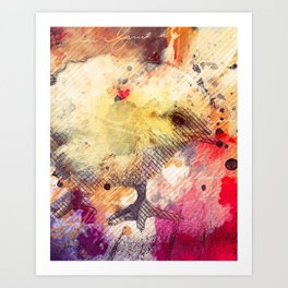 Baby Chicken Mixed Media, Chick Art, Chicken Painting, Oil Painting, Baby Chickens, Baby Chicks Art Print