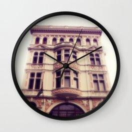 pretty city lll Wall Clock