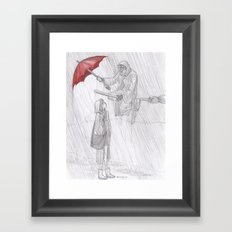 Rainy Monday Framed Art Print