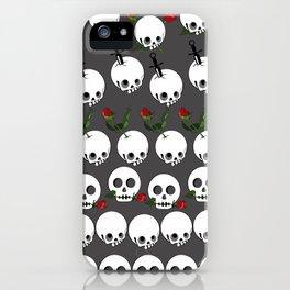 Cute skull iPhone Case