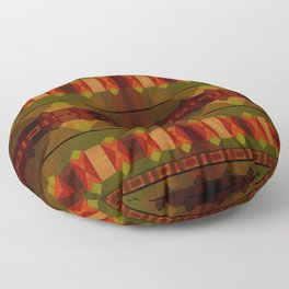 """Full Colors Tribal Pattern"" Floor Pillow"