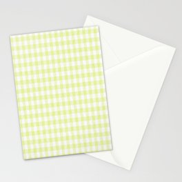 Cactus Garden Gingham 2 Stationery Cards