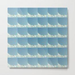 Cloud and sky 8 -cloud, sky, blue, positive,optimism Metal Print