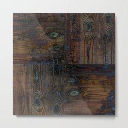 Old boards, old wood, aged wood, wood Metal Print