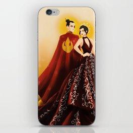 Fire Nation's Royal Siblings iPhone Skin