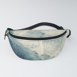 Ice Blue Surf Fanny Pack