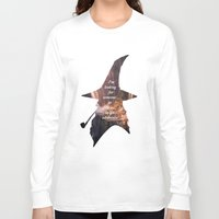 hobbit Long Sleeve T-shirts featuring The Hobbit by Ida Rotli