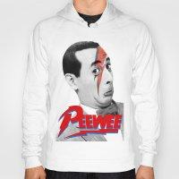 pee wee Hoodies featuring Pee wee by Iamzombieteeth Clothing