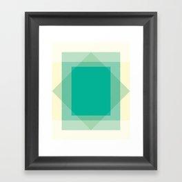 Cacho Shapes LXI Framed Art Print