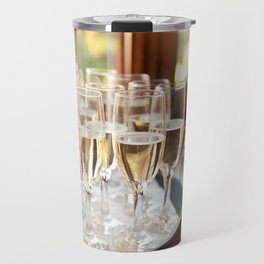 Wedding banquet champagne glasses Travel Mug