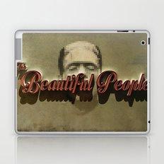 The Beautiful People  Cover Laptop & iPad Skin