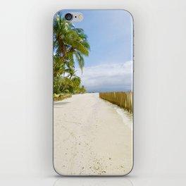 Boracay Sunshine walk iPhone Skin