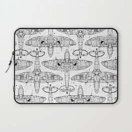 Spitfire Mk. XIV (black) Laptop Sleeve