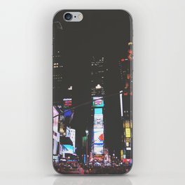 Evening Glow - Times Square iPhone Skin