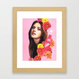 KIKA Framed Art Print