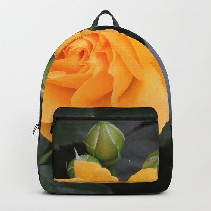 """A Rose Named """"Julia Child"""" Backpack"""