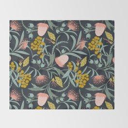Flora Australis Throw Blanket