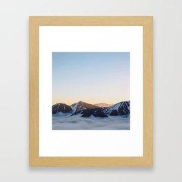 Mountain feels Framed Art Print