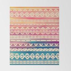 SURF TRIBAL II Throw Blanket