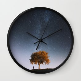 Light and Magic 001 // Tree Gazer Wall Clock