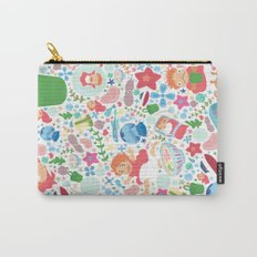 Ponyo Pattern - Studio Ghibli Carry-All Pouch