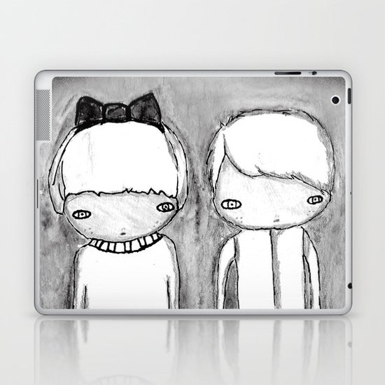 Indigo Twins Laptop & iPad Skin