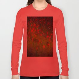 SPACE POPPIES Long Sleeve T-shirt