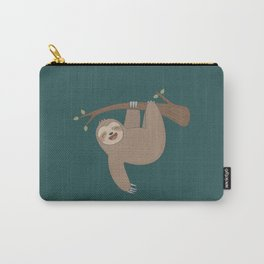 Cute Happy Sloth Carry-All Pouch
